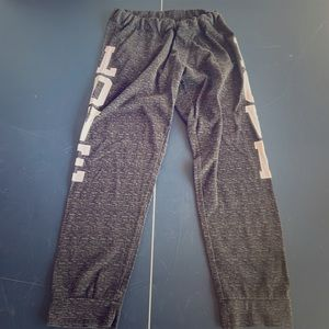 bobbie brooks love spell out sweat pants
